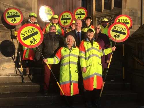 School Crossing Patrollers' Long Service Celebrated