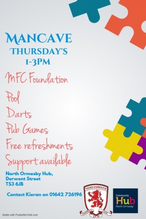 Mancave Thursdays at North Ormesby Hub