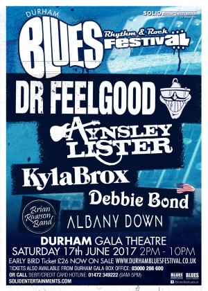 Durham Blues, Rhythm & Rock Festival Returns!