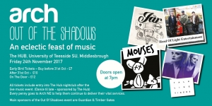Arch North East Presents Out of the Shadows