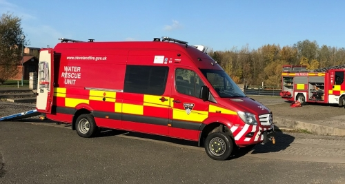 Water rescue unit launched