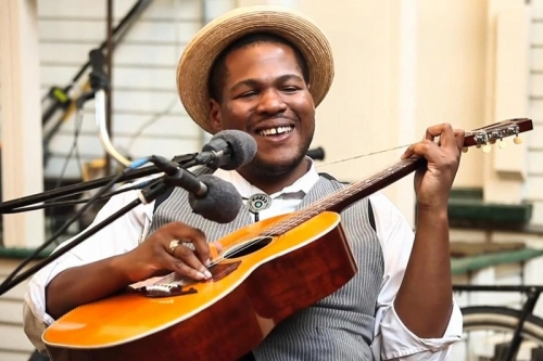 Blind Boy Paxton to Play Middlesbrough Town Hall