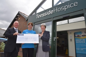 Recycling Scheme's Support for Teesside Hospice