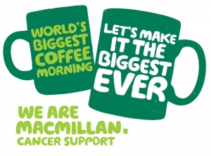 Macmillan World's Biggest Coffee Morning Event at the Live Well Centre
