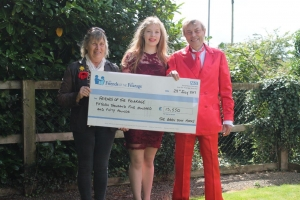 Night of fun, food and music raises £15,500 for Friends