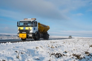 Gritters at the Ready as Town Prepares for Winter