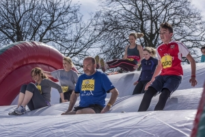 Be Gung-Ho! Take on world's biggest inflatable obstacle course for your local hospitals