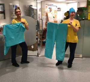 Crafters Create Thousands of NHS Scrubs