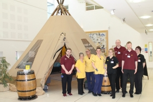 South Tees Teepee – Take Time to Talk