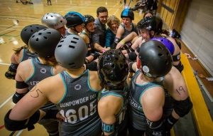 Middlesbrough Roller Derby Qualifies for International Women's Roller Derby Playoffs