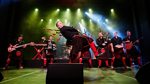 Red Hot Chilli Pipers are coming to the North East