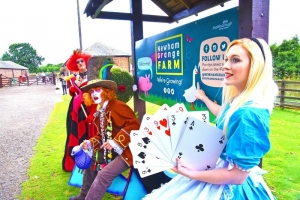 Newham Grange Wonderland Hosts Mad Hatter's Tea Party