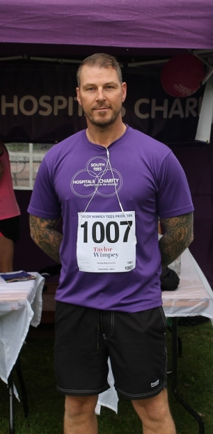 Robbie's £7k run for breast cancer centre is an inspiration