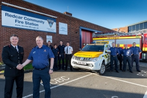 Coastguards in first move with firefighters