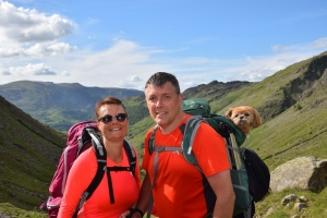 Town's Top Officer Joins Fostering Coast to Coast Walk