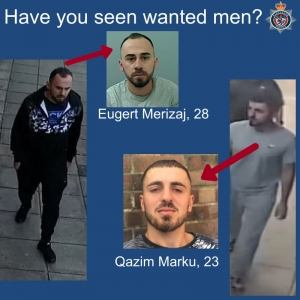 Police Name Two Men Wanted in Connection with Suspected Murder